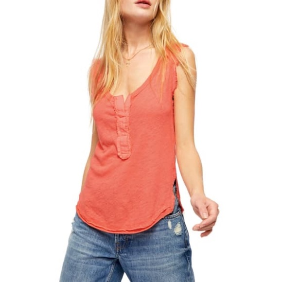 Free People Vacay Tank in Pixie